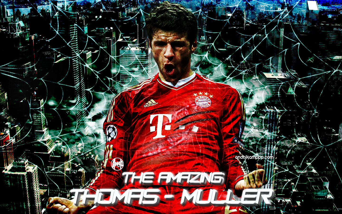 THOMAS MULLER My Wallpaper Blog Andhikampppcom
