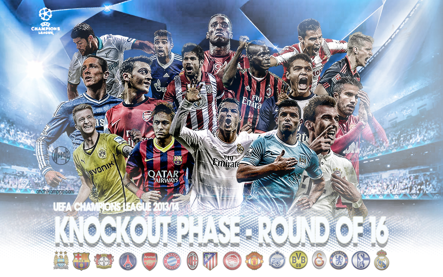 UCL 16 ROUNDS