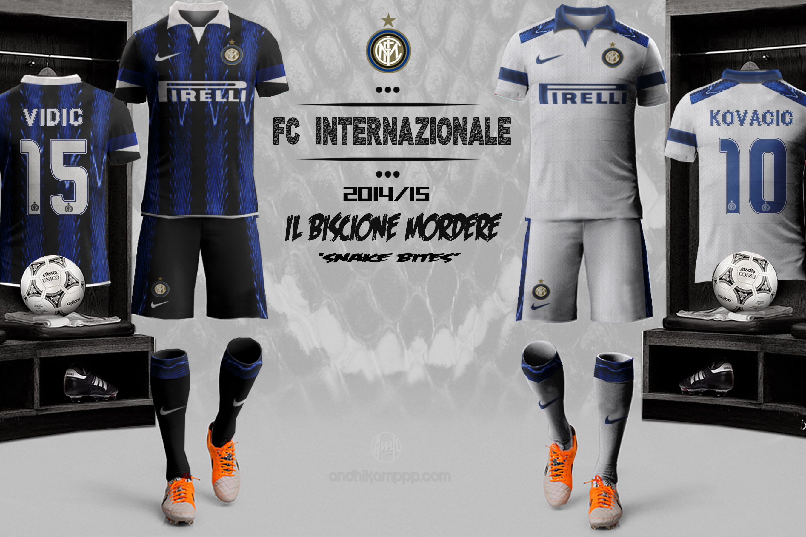 Inter Fantasy Kit 2014-15